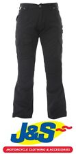 Red Route Cargo 007 Black Men's Combat Aramid Motorcycle Trousers Casual J&S