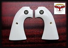COLT BISLEY MAGNA-TUSK™  IVORY GRIPS ~ SINGLE ACTION ARMY ~ SAA  Silver Liberty