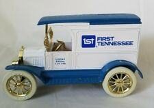 1917 Ford Model T Van Truck First Tennessee Bank Advertising collectible