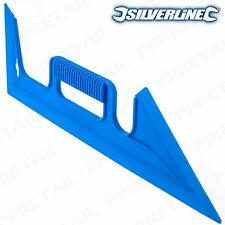 GENUINE SILVERLINE PAINT SHIELD 450mm Decorating Splash Guard/Edge Masking Tool