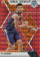 2019-20 Panini Mosaic NBA Debut Red Prizm Ty Jerome #273 Rookie