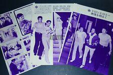 ALAIN DELON ROMY SCHNEIDER CHARLES BRONSON 1968 JPN Clippings 3-SHEETS(5pgs)li/o