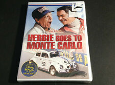 WALT DISNEY - HERBIE GOES TO MONTE CARLO  (DVD)  NEW