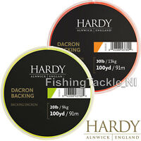 Hardy Fly Line Backing - Lime Green or Orange - 100 or 250yard Fly Fishing