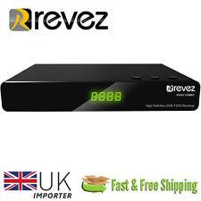 Revez Nano Combo Full HD 1080p FTA DVB-S/S2 & DVB-T/T2 Satellite Terrestrial NEW