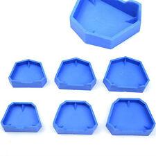 Dental Lab Model Former Base Molds Blue Color Two Types 6 Pcs/Pack S/M/L Size
