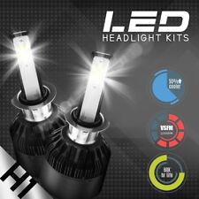 NEW 2x H1 6000K Diamond White 60W Cree LED Headlight Bulbs Kit Fog Driving Light