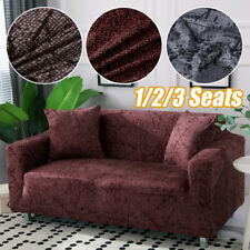 1/2/3 Seats Stretch Spandex Chair Sofa Couch Covers Elastic Slipcovers For Decor
