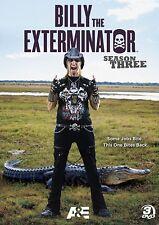 Billy the Exterminator~ Complete 3rd Third Season 3 Three ~ NEW 3-DISC DVD SET
