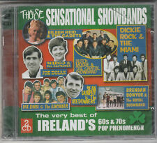 Those Sensational Showbands Factory Sealed BRAND NEW CD Free 1st Class UK P&P