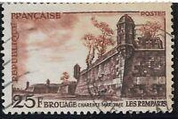 Timbre France année 1955  N°1042