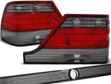 REAR TAIL LIGHTS LTME08 MERCEDES S-CLASS W140 1995 1996 1997 1998 RED SMOKE