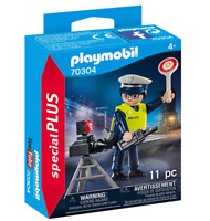 PLAYMOBIL 70304 Special Plus Policeman with Radar Trap