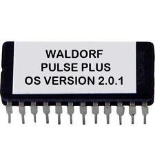 Waldorf Pulse Plus firmware OS upgrade v2.01 - Final