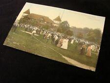Rppc 1900'S Merrymaking Sringbank Park London Canada Color Lots Of Folks