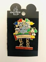 Walt Disney World Mickey Mouse Four Parks One World Dangle Pin