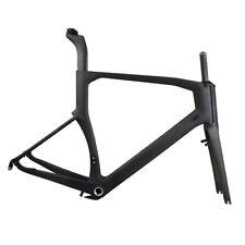 54cm BSA Carbon Road Bike Frame Fork Seatpost Headset 700C UD Matt Racing Parts