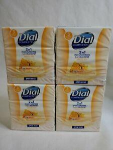 Dial 2 in 1 Moisturizing Antibacterial Manuka Honey Discontinued 12 Bar Lot New