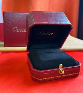 Cartier 100% Authentic Ring Box — with Outer Box, Sleeve and Gift Bag