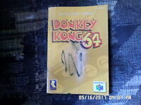 Donkey Kong 64 (Nintendo 64) Instruction Manual Booklet Only... NO GAME