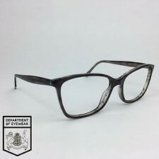 GENERIC eyeglass BROWN / CLEAR frame SQUARE Authentic. MOD:25664294
