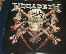 Dave Mustaine Megadeth SIGNED Killing Is My Business and Business Is Good Album
