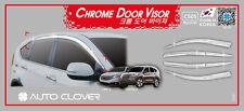 Chrome Weather shields Window Visors 6p for NOV/2012~ 2016 Honda CR-V