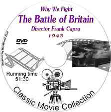 The Battle of Britain -  Why We Fight - Director Frank Capra  DVD 1943
