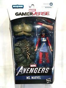"Marvel Legends Hasbro 6"" Action Figure - Ms Marvel Kamala Khan (Abomination BAF)"