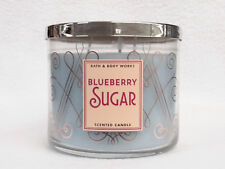 1 Bath and Body Works BLUEBERRY SUGAR 3-Wick Scented Candle 14.5 oz