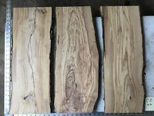 3 Olive Wood Boards Lumber  O8
