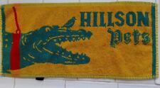 Lot of 5 Vintage cotton pub towels Holsten Pils Youngs, Stones best bitter