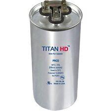 PRCD455A TITAN HD RUN CAPACITOR 45+5MFD 370V ROUND