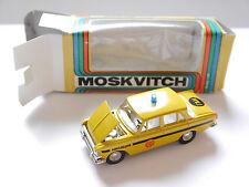 Moskvitch Moskvich 412 militia Gai radón novoexport URSS USSR CCCP 1:43 Boxed