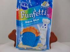Pillsbury Funfetti Aqua Blue Cupcake Cake Mix Baking Party Cup Cake 08/13/2020