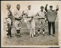 1920's TY COBB Baseball Hall of Famer Vintage Press Photo