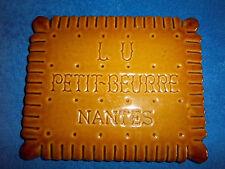 ANCIEN DESOUS DE PLAT PUBLICITAIRE PATRIMOINE ARTISTIQUE LU PETIT BEURRE NANTES