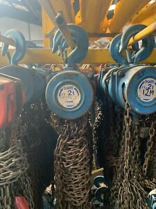 CHAIN BLOCK AND TACKLE MANUAL HOIST 2000KG - *Ex-Hire*