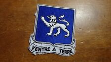 U S  ARMY 68TH INFANTRY REGIMENT CCC CCN RECON  PATCH   BX T #7