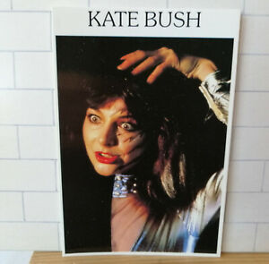 Vintage original Kate Bush postcard - Studded Collar - Splash Manchester X148