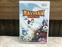 Rayman Origins (Nintendo Wii, 2011) COMPLETE -TESTED - FREE SHIPPING & RETURNS