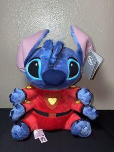 "Disney Lilo & Stitch Plush Red Spacesuit 15""  Stuffed Toy Space Suit Four Arms"