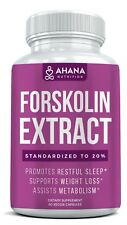 Maximum Strength Pure Forskolin Extract Pills - Ultimate Weight Loss Solution