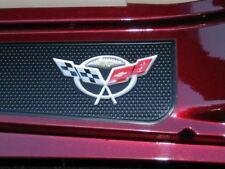 C5 Corvette 3D Raised Door Sill Decal Set 50th Anniversary