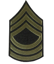 US Arm Rank Insignia - Master Sergeant Stripes, WW2 US Army reproduction Iron on