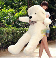 55in. GIANT HUGE big TEDDY BEAR PLUSH SOFT TOYS doll Stuffed Animals gift 140cm