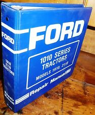 "FORD 1910  2110  COMPACT UTILITY TRACTORS  REPAIR MANUAL W/BINDER ""NEW"""