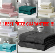 Luxury Windsor Designer Towels 100% Egyptian Cotton 500gsm ~ SAVE 30% ON BALES !