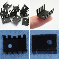 BU_ 100PCS TO-220 Heat Sink Aluminum TO220 19x15x10mm IC Transistors Heatsink Pr