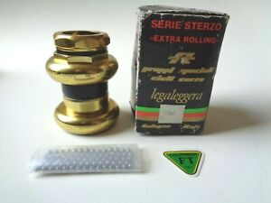 *Rare NOS Vintage 1980s FT Bologna (super record era) gold aluminium headset*
